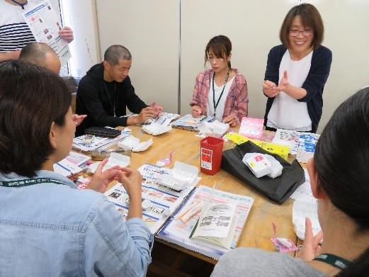 島根県糖尿病療養指導士第11期、第3回認定研修会報告血糖自己測定実習・インスリン実習