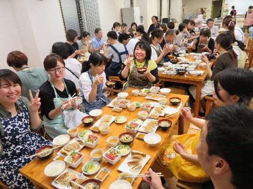 島根県糖尿病療養指導士第11期、第3回認定研修会報告調理実習